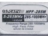 供应广电信号滤波器,高通滤波器HPF