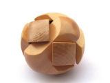 智力玩具 足球锁/木质木制/成人益智/拆装解锁玩具