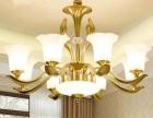 山东建材市场济南灯具城客厅吊灯价格水晶灯安装