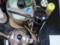 转让钢化玻璃茶几一套