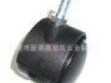 50mm2寸脚轮 带刹脚轮 尼龙黑色脚轮 家具塑料脚轮万向轮