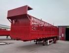 昆明厂家直销定制9-13米低平板发掘机运输半挂车