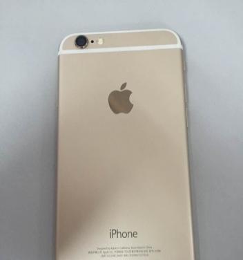自用金色iPhone6低价甩